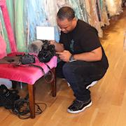 Behind the scenes of B&B Couture NYC