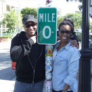 Filming SAG scene with Actor/Filmmaker Kevin Sharpley at the end of America!!