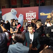 Theory of Everything LA Premiere shooting for Discovery channel