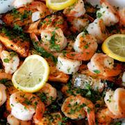 Greek style shrimp