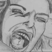 """My hand drawn storyboard panel from the last scene of my TV Pilot """"Life's A Pitch""""."""