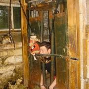 David L Tamarin being tortured in Countess Bathoria's Graveyard Picture Show