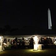 Production Mgr. David's Tent DC on the White House Ellipse, Washington, DC