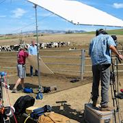 Shooting on a ranch in Northern California.