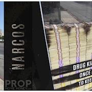Our prop money featured for Narcos marketing purposes