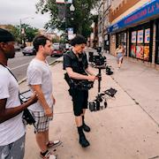 Steadicam Operator Chicago. Red Dragon on music video shoot.