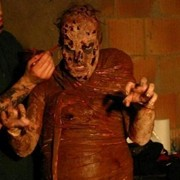David L Tamarin as a zombie in Prison of the Psychotic Damned