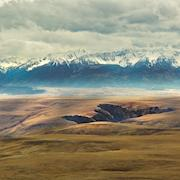 The Wallowa Mountains from Harsin Butte