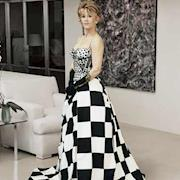Rhonda styled Jane Fonda in a Versace Gown made just for her.