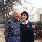 Rhonda styled Jimmy Carter for NBC interview