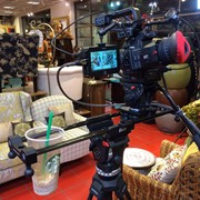 C100 on a slider for Pier One.  The slider also doubles as a cup holder.