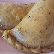 Vegan Pizza Empanada