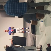 Shooting the cover of Madden 16 with Odell Beckham Jr.