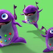 3d character for Little Einsteins (Autodesk Maya, Adobe Photoshop)