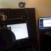 Just another 1st-person view from my studio
