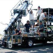 SuperTechno Crane on Chapman's camera car.