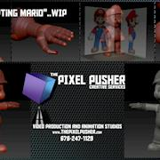 3D custom Character Creation - PIXEL Pusher Creative Services