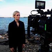 Filming Ataraxia on the Staten Island North Shore, with a Red epic.