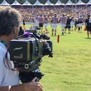 Shooting the Falcons Training Camp.