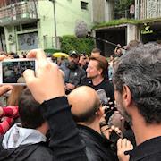 U2 in concert, São Paulo, Brazil