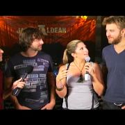 CMT Top 20 Countdown interview of Lady Antebellum. Makeup by Candace Corey