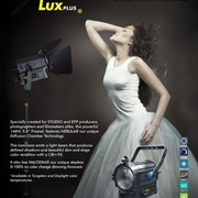 "AURALUX PLUS STUDIOLED 5.5"" FRESNEL with NEBULA (TM) Technology by FLUOTEC"