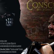"""Official Poster #2 of my music video """"Conscious""""."""
