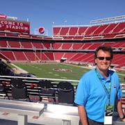 Inertia on location at Levi's Stadium, home of the San Francisco 49ers.
