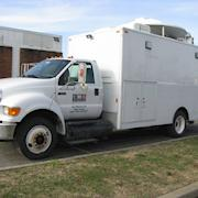 2008 Sterling 29' SD Ku-Band Uplink Truc