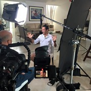 In Ft. Lauderdale with IndyCar driver Helio Castroneves for NBCSports