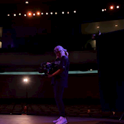 Working as DP on Senior Thesis film Pageant Perfect