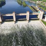 Water dam of Mericourt / May 2018