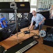 Photos of lighting equipment