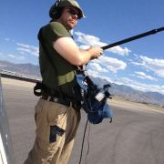 Recording sound at the Rocky Mountain Raceway