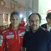 Ale and Valentino Rossi