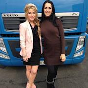 Rhonda styled Tara Lipinski at the Ice Palace for NBC Olympics in Russia