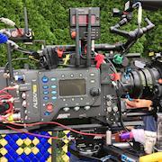 """Alexa LF on set for """"Enough!"""" (2018)"""