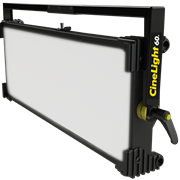 CINELIGHT 60 the NEW powerful SoftLIGHT Bicolor DMX LED panel by FLUOTEC will be showcased at #NABshow