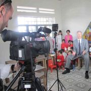Somerville Media - Camera crew in Vietnam with Cargill CEO, Greg Pope