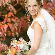 Rhonda styled bride for magazine article