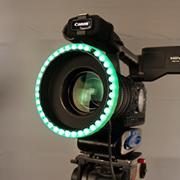 LED ChromaKey Light Ring & Retro-reflective Backdrop – COMPLETE KIT!