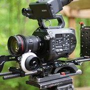 Sony FS7 with rig