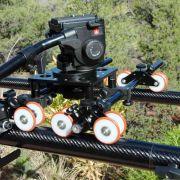 Carbon XL Dolly Track System, carbon fiber
