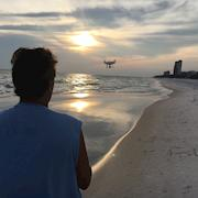 Shooting drone aerials with the DJI Phantom 4 Pro Plus in Florida.