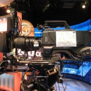 Sony 1500 w/ Canon 11x4.7 Digital Wideangle lens, G-Zoom, Prompter, Tally, and LitePanel