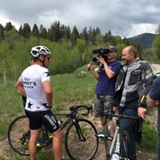 Filming a Doc w/ Lance Armstrong in Aspen