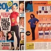 "PEOPLE Magazine ""Half Their Size 2014"" - MUA/Hair/Wardrobe Stylist & Buyer"