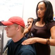 BTS With Essence Atkins Watching Playback