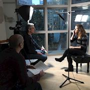 Interviewing Milena Pajaro-van de Stadt for feature-length documentary about the Dover Quartet