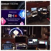 Concert video production at Dolby theater